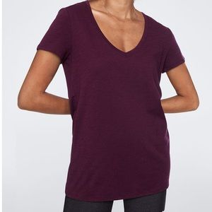 V neck tee from Pink Victoria's Secret